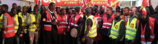 Vive la lutte des travailleurs sans-papiers du marché de Rungis