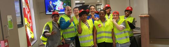 Grève à Campanile: la détermination est intacte