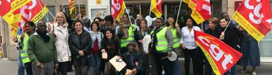 Victoire pour les grévistes de Campanile !